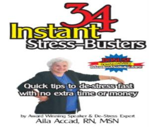 34 Instant Stress-Busters Book
